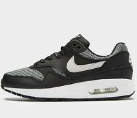 Women Nike Air Max 1 SE ® (UK Size 6 EU 40) Black / Vast Grey / White Latest NEW