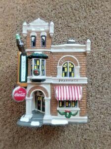Dept 56 Coca-Cola Corner Drug Store The Original Snow Village 1995