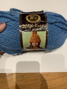 FREE SHIP Lion Brand WOOL-EASE THICK &QUICK Acrylic Yarn 106 Sky blue Lot 73912