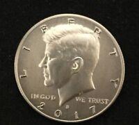 2017 S 225th Anniversary Enhanced Uncirculated Kennedy Half Dollar Coin