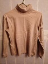 Sous pull beige mixte, taille 14 ans