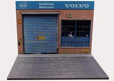 Diorama présentoir Volvo Dälalven Bilservice - 1/18ème - #18-2-E-E-009