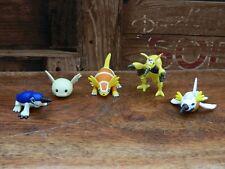Digimon Upamon Digmon Submarimon Mini Figura Paquete Bandai