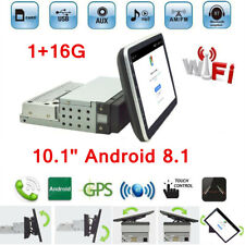 "10.1"" Android 8.1 Single 1Din Car Stereo Radio GPS Wifi OBD2 Mirror Link Player"