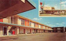 Chicago Illinois 1960-70s Postcard L.P. Motel 4605 N. Harlem Avenue Coke Machine