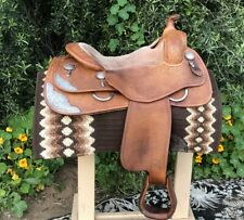 Bobs Custom Western Saddle Randy Paul Reiner 16""