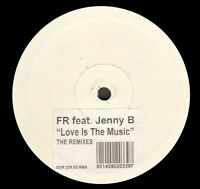 FR, Feat. Jenny B - Love Is The Music (the Remixes) - D: Vision - DVR 339.03 Rmx