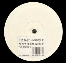 FR, FEAT. JENNY B - Love Is The Music (The Remixes) - D:Vision