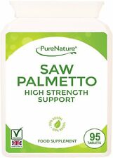 Saw Palmetto 3000mg High Strength Superior Grade 95 Tablets