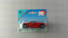 Siku #1001 Red Porsche Carrera GT 1:55 Scale Diecast Model Car MOC