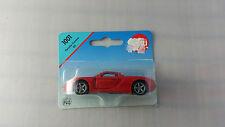 Siku #1001 Red Porsche Carrera GT 1:55 Scale Diecast Model Car MOC
