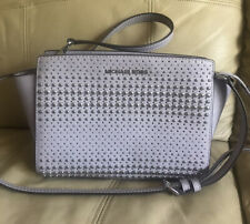 Michael Kors Lilac Selma Stud Bag