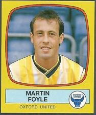 PANINI FOOTBALL 88-#211-OXFORD UNITED-MARTIN FOYLE