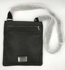 BORSA TRACOLLA UOMO DOLCE & GABBANA IN PELLE NERA - MEN'S BAG LEATHER D&G