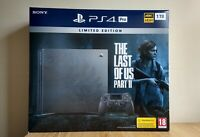 NEW | PS4 PRO 1TB LIMITED EDITION | THE LAST OF US PART 2 II CONSOLE WITH GAME