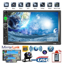 2Din Car Radio RV Camera 7inch Bluetooth MP5 Mirror Link USB FM TF IOS/Android