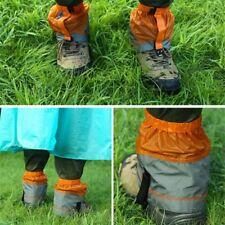 1 pair Gaiters Breathable Lighweight Dustproof Nylon Gaiters for Hiking Climbing