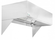 "HoodMart 4' x 48"" Short Cycle Makeup Air Type 1 Commercial Kitchen Hood"