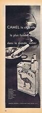 PUBLICITE ADVERTISING 114 1959 CAMEL cigarettes