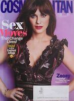 ZOOEY DESCHANEL November 2016 COSMOPOLITAN Magazine