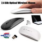 Mouse Ottico Wireless USB Senza Fili Scroll Mice Per Computer PC Laptop Mac