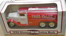 TrueValue Hardware Diamond T Tanker Truck Die Cast Bank Ertl #11 collectible new