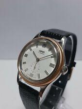 ORIS Bezel Gold 18k manual swiss made vintage watch. EXCELLENT CONDITION
