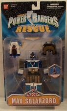 """Power Rangers Lightspeed Rescue 6"""" Max Solarzord Transforms To Shuttle Mode MOC"""