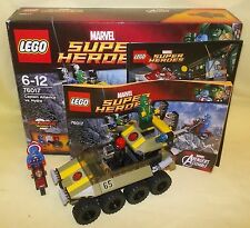 LEGO MARVEL SUPER HEROES AVENGERS CAPTAIN AMERICA VS HYDRA 76017