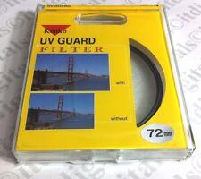 Kenko 72mm UV Haze Recubierto CRISTAL FILTRO OBJETIVO Protección Protector
