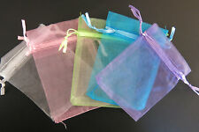 BULK! 100pc organza jewelry/wedding bags mixed colors (JC8)