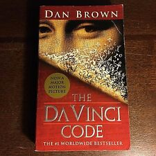 Dan Brown THE DA VINCI CODE paperback novel pb book movie
