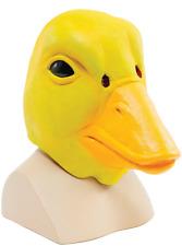 pour hommes femmes RUBBER DUCK Masque tête complète ANIMAL CARNAVAL