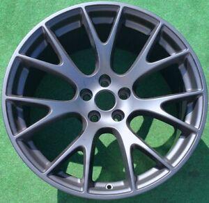 Factory Dodge Hellcat Wheel Black OEM Challenger Charger SRT 2528 5LD38VXWAB