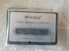 Wikoo Super Usb Cassette Tape Capture Converter to Pc Mp3 Music Player Portable 00004000