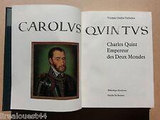 Charles Quint par Terlinden chez Desclee de Brouwer + étui cartonné 1965