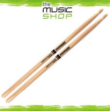 New Set of Promark Hickory 7A Drumsticks with Wood Tips - TX7AW