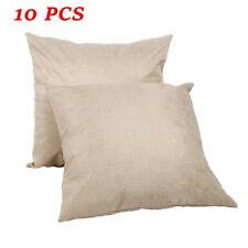16''x16'' Linen Sublimation Blanks Throw Pillow Case Cushion Cover DIY Printing