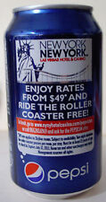 2011 12 oz.  PEPSI CAN ( NEW YORK NEW YORK ) BOTTOM OPENED