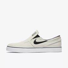 Nike SB Zoom Stefan Janoski Slip On Light Bone Skate Shoe(833564 002) Men's 9