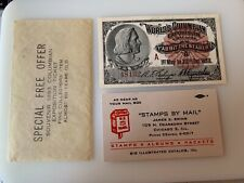 1892-1893 Chicago World's Fair - Admission Ticket - Number 48132