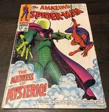 Amazing Spider-man #66 Silver age 2nd Mysterio Key, Reader Copy, Marvel comics