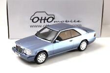 1:18 OTTO Mercedes E320 (C124) Coupe 1986 blue NEW bei PREMIUM-MODELCARS