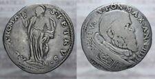 TESTONE 1585 - 1590 SISTO V STATO PONTIFICIO PAPAL STATE