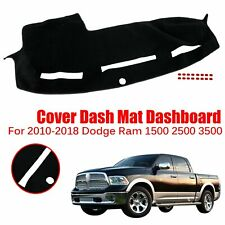 Fits 2010-2018 Dodge Ram 1500 2500 3500 Dash Mat Cover Dashboard 2011 2012 2013
