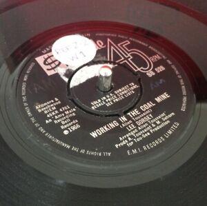 "7"" LEE DORSEY WORKING IN A COAL MINE STATESIDE 1966"
