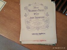 John Thompson:  The Brownies Carnival, piano solo (Schroeder and Gunther)