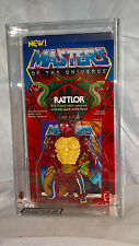 Masters of the Universe 1986 RED NECK RATTLOR 3 Back U.S card un/punched UKG 80