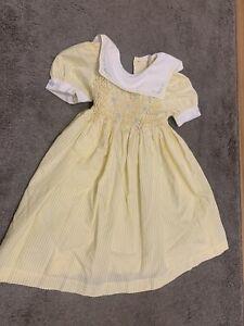 Vintage Marks And Spencer Girls Dress Age 3 Mint!