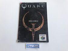 Notice - Quake - Nintendo 64 N64 - PAL FRA